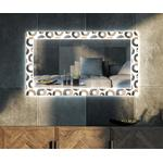 Modern wall mirror for the living room