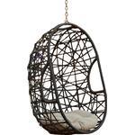 Trevyn Indoor/Outdoor Wicker Hanging Teardrop / Egg Chair (Stand Not Included)