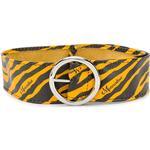 Monnalisa - TEEN zebra print wide belt - kids - Calf Leather - S, M - Orange