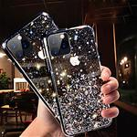 Phone Case For Apple Back Cover iPhone 11 iPhone 11 Pro iPhone 11 Pro Max Glitter Shine sky Glitter Shine TPU Lightinthebox