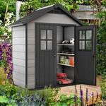 Keter Oakland Plastic Apex Shed 7X4