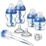 Tommee Tippee Tommee Tippee Advanced Anti Colic Decorated Bottle Starter Set Blue