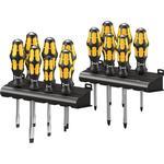 Wera Wera 900 Kraftform Plus Chiseldriver 13 Piece Heavy Duty Screwdriver Set