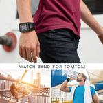 ANBEST Silicone Strap Replacement for TomTom Runner 2/3 Spark/3 Strap Sport Watch for Tom Watch Strap High Quality Watch Band