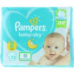 Pampers Baby-Dry Pants Air 33 Nappies Size 2
