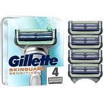 Gillette SkinGuard Sensitive Razor Blades x4