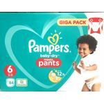 Pampers Baby-Dry Pants Size 6 84 Nappies with Air Channels 84 Nappies