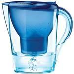Brita marella water filter jug, maxtra+, blue Kitchen Accessories BRITA Marella Water Filter Jug, 3 Cartridges, Cool Blue