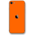iPhone SE (2020) GLOSSY Orange Skin