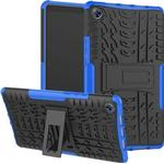 Anti-Slip Huawei MediaPad M5 8 Hybrid Case with Stand - Blue / Black