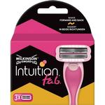 Wilkinson Sword Intuition FAB Razor Blades x 3