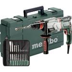 Metabo UHE 2660-2 Quick Set SDS-Plus-Hammer drill chisel, Hammer drill, Hammer drill combo 800 W incl. case, incl. accessories