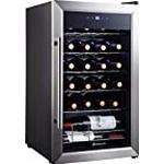Kalamera 24 bottle Single Zone Wine Cooler Small wine fridge