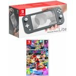 Nintendo Switch Lite Grey with Mario Kart 8 Deluxe for Switch
