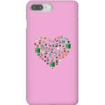 Pixel Sprites Heart Phone Case - iPhone 8 Plus - Snap Case - Gloss