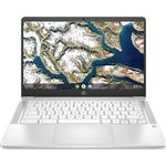 "HP 14a 14"" Chromebook - Intel®Pentium Silver, 128 GB eMMC, White, Silver"