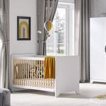 Vox Leaf Cot Bed - White
