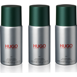 Hugo Boss - 3x Hugo Man Deodorant Spray 150 ml