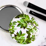 Botanical Leaves Pocket Mirror