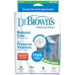 Dr Brown's 240ml Bottle Twin Pack