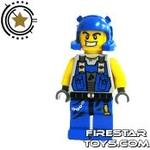 LEGO Power Miners Mini Figure - Power Miner With Stubble