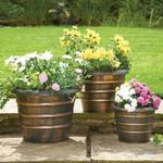 (DIS) Beehive Garden Planters 3 Pack