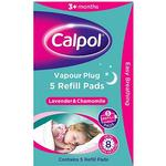Calpol Vapour Plug 5 Refill Pads - Lavender & Chamomile