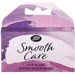 Boots Smooth Care Five Blade System Replacement Razor Blades