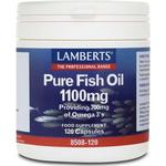 Lamberts Pure Fish Oil 1100mg 120 Capsules