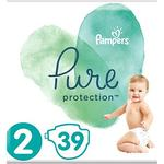 Pampers Pure Protection Size 2, 39 Nappies, 4-8kg