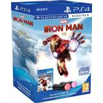 MARVEL IRON MAN VR & PSVR MOVE CONTROLLER PACK - PS4 GAME