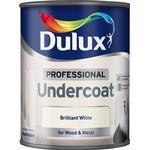 Dulux brilliant white Home Accessories Dulux 0.75L Professional Paint Undercoat - Brilliant White