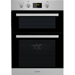 Indesit - IDD6340IXIndesit Aria IDD6340IX Built-In Double Oven - Stainless Steel