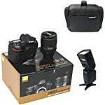 D850 DSLR Camera + AF-S NIKKOR 24-120mm f/4G ED VR Lens with KamKorda Professional Camera Bag + Speedlite Flash