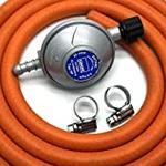 Calor Gas Brand Campingaz Gas Regulator 2Mt Hose & 2 Clips 5 Year Warranty