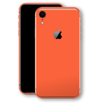 iPhone XR Glossy CORAL Skin