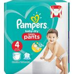 Pampers Baby Dry Nappy Pants Size 4 - 27 Pants