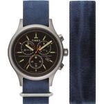 Timex Allied Chrono - Antique Silver Colour: Antique Silver, UK Size: