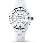 Chanel J12 White Ceramic and Steel H1628 33mm