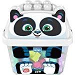 Mega Bloks GCT47 Placful Panda Preschool, Building Blocks with Storage Tub, Multicolored