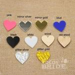 Mirror Gold Acrylic Wedding Cake Toppers | Bridelily