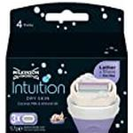 Wilkinson Sword Intuition Dry Skin Razor Blades for Women, Pack of 3