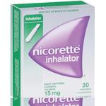 Nicorette Nicotine 15mg Inhalator with 20 Cartridges