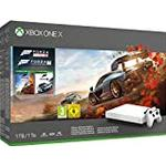 Xbox One X 1TB White Console – Forza Horizon 4 Bundle