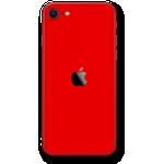 iPhone SE (2020) RED MATT Skin