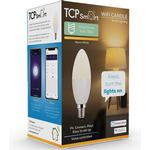 Tcp smart plug Lighting TCP Smart LED Wifi Candle 470 Lumens SES/E14 Dimmable - Warm White