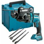 Makita DHR182ZJ 18V Brushless Rotary Hammer Drill with 4 Piece Chisel Set