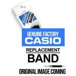 Black resin strap for Casio WVA-107HJ-1AH / WVA-107HE-1A2 / WVA-107HE-1AV