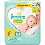 Pampers Premium Protection Nappies Jumbo Pack - Size 1