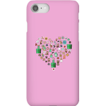 Pixel Sprites Heart Phone Case - iPhone 8 - Snap Case - Gloss